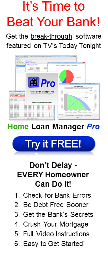 Home Loan Manager - Download Software Now
