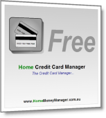 Home Credit Card Manager Free - Credit Card Details