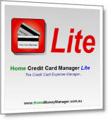 Home Credit Card Manager Lite - Credit Card Details