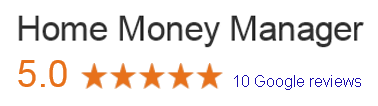 Home Money Manager 5 Star Google Reviews