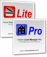 Home Money Manager Bundle - Mortgage and Credit Card Software