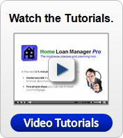 Home Loan Manager - Video Tutorials